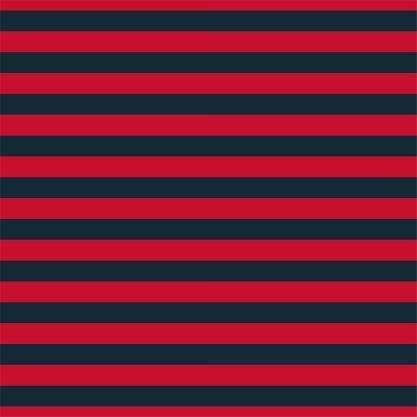 HTV Navy and Red Mini Stripe