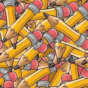 HTV Packed Pencils