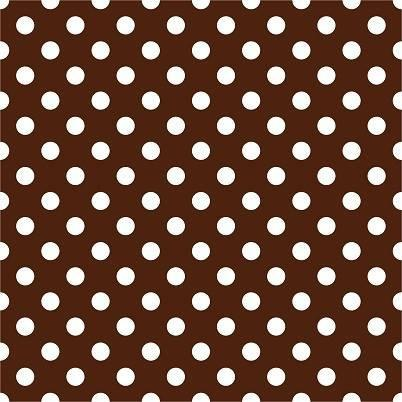 HTV Brown and White Dots