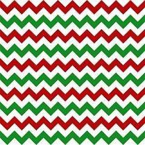 HTV Red and Green Chevron