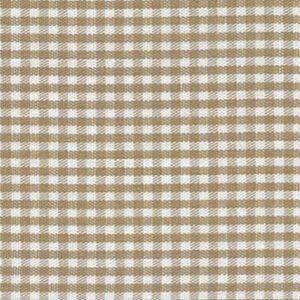 1/16 Inch British Tan Gingham
