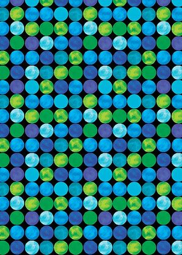 Artist Dots Blue/Green