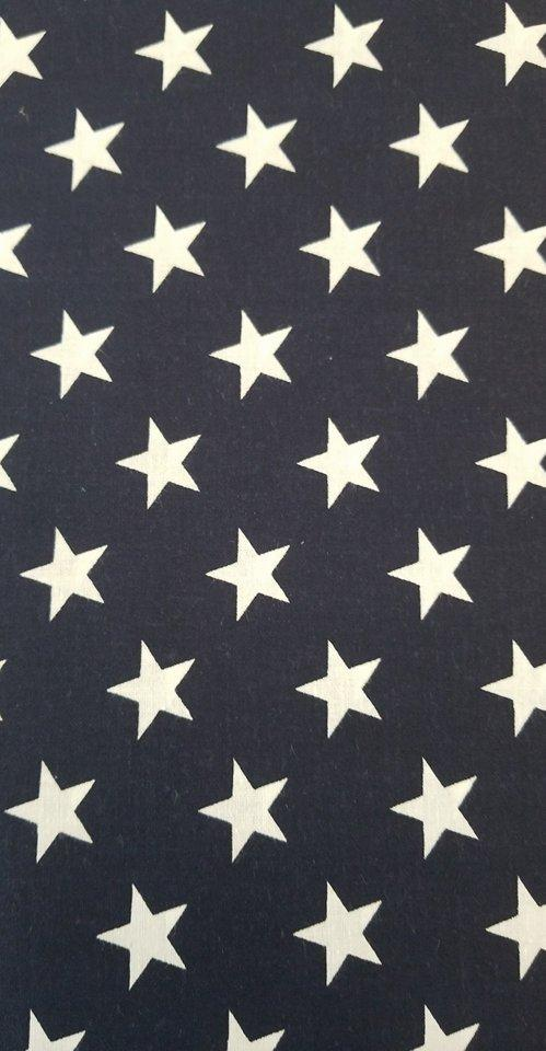 Large Navy/White Stars 108""