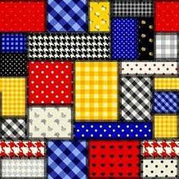 HTV Primary Patchwork