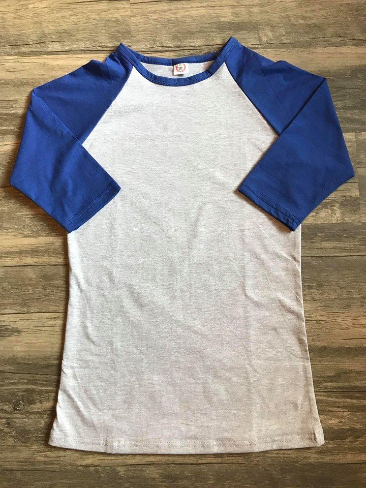 Royal Blue and Heather Adult