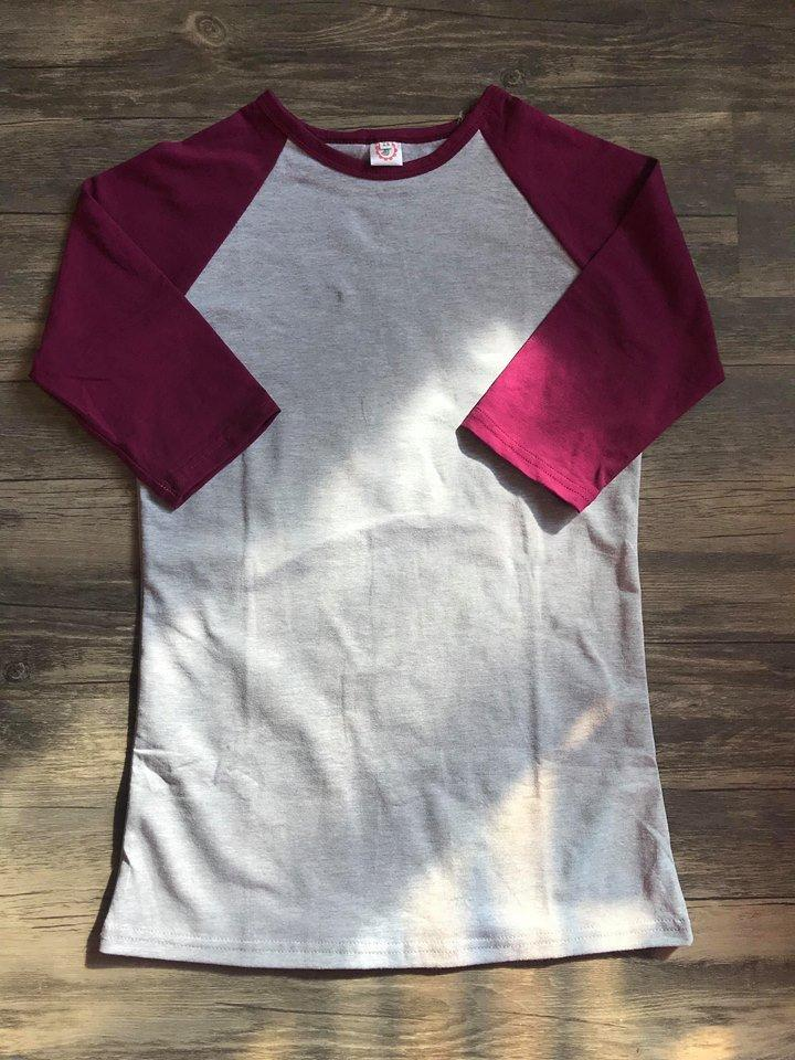 Burgundy and Heather Adult