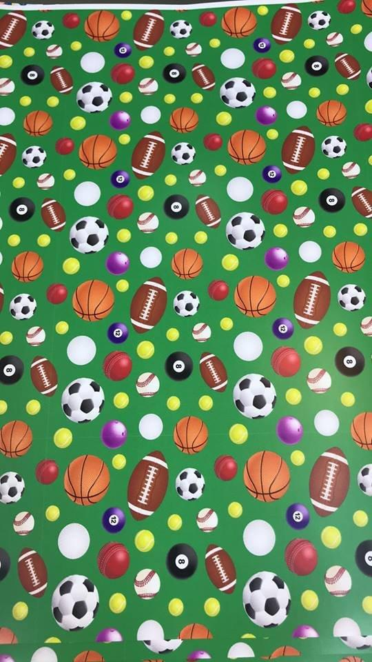 All Sports on Green Adhesive