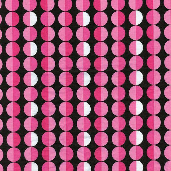 Black/Pink Cool Dot