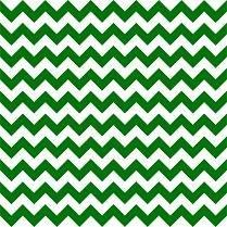 HTV Green and White Chevron
