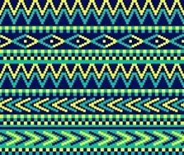 HTV Blue and Green Tribal