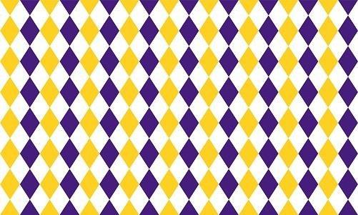 HTV Purple and Gold Harlequin