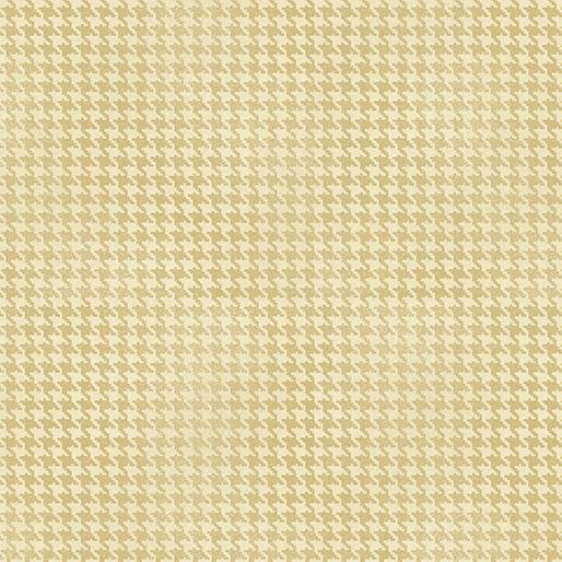 Blushed Houndstooth Cream