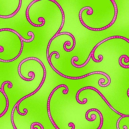 Bedazzled Swirl Green