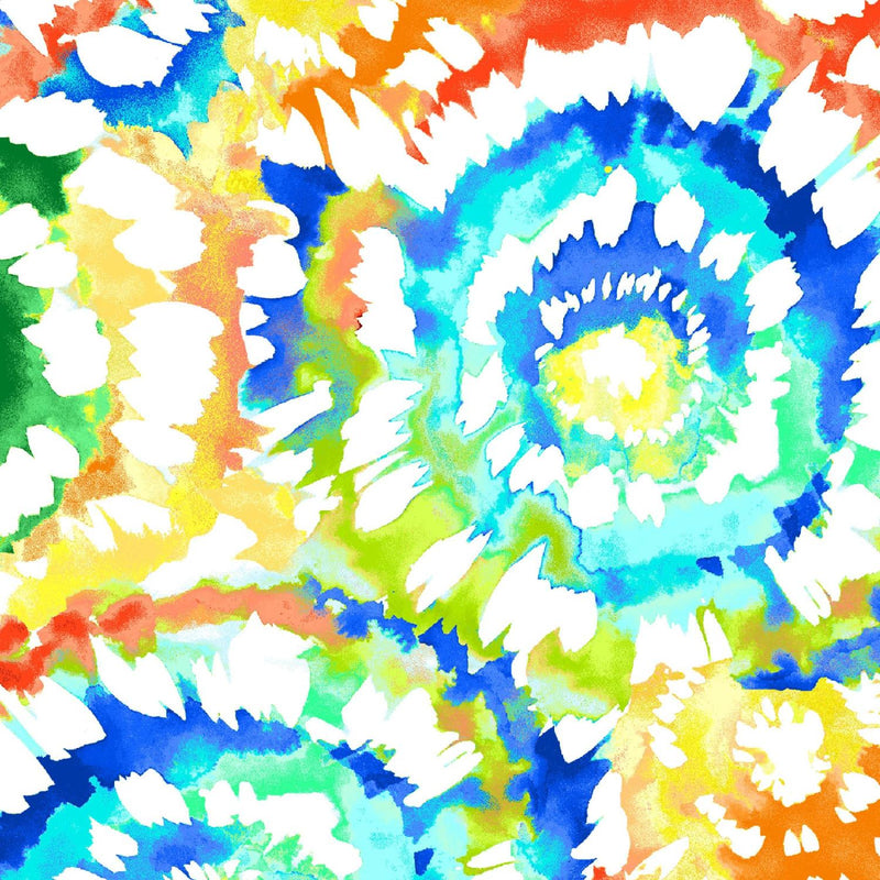 "Spin Art Multi 108"" Wide"