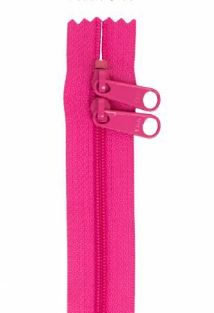 "Handbag Zipper 30"" Raspberry"