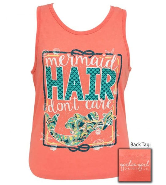 "Girlie Girl ""Mermaid Hair"" Tank Top"