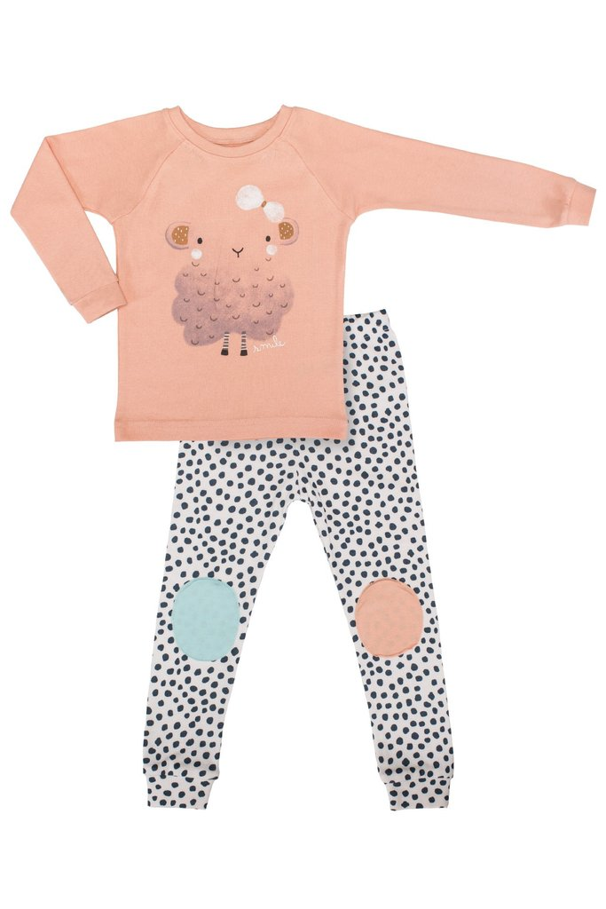 Youth Toddler PJ's by PPIPPILONG - Petit Lamb