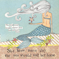 Mermaid Call Napkins