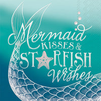 Mermaid Wishes Napkins