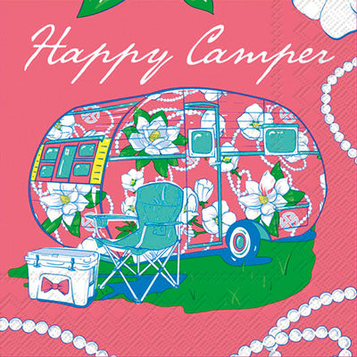 "Simply Southern ""Happy Camper"" Napkins"