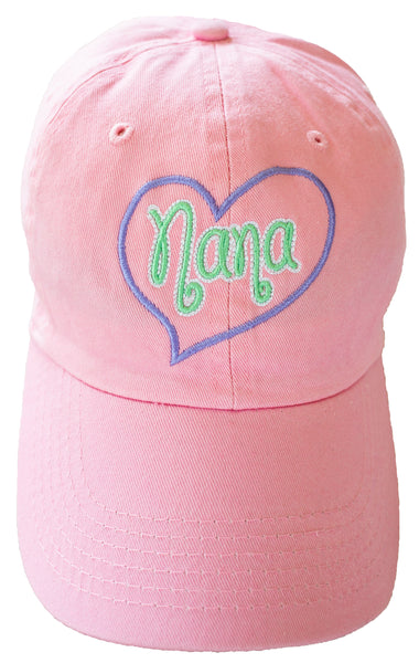 NANA HEART BALL CAP