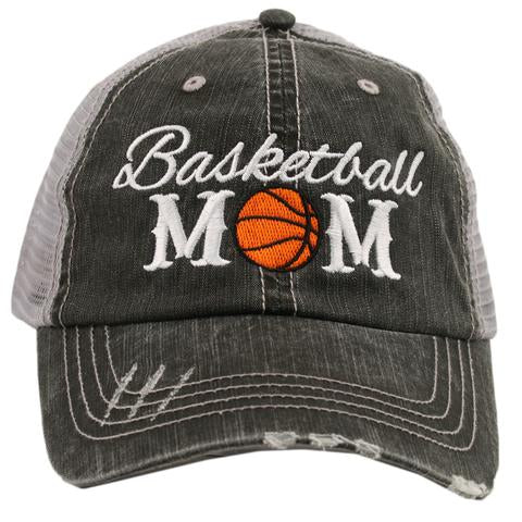Katydid Basketball Mom Trucker Hat