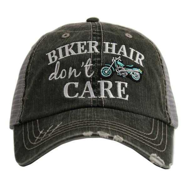 Katydid Biker Hair Don't Care Trucker Hat - 2 Color Choices