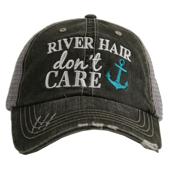 Katydid River Hair Don't Care Trucker Hat - 2 Color Choices
