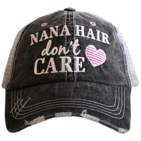 Katydid Nana Hair Don't Care Trucker Hat
