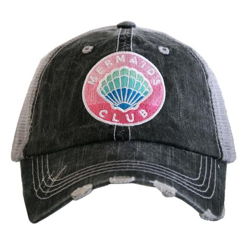 Katydid Mermaid Club Patch Trucker Hat