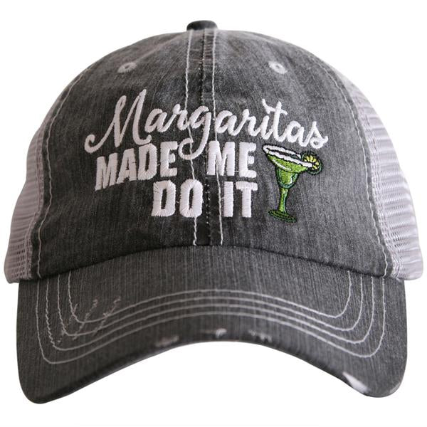 Katydid Margaritas Made Me Do It Trucker Hat