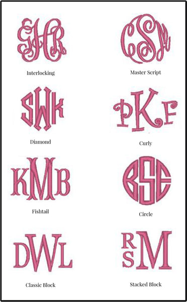 * White Monogrammed Ball Cap