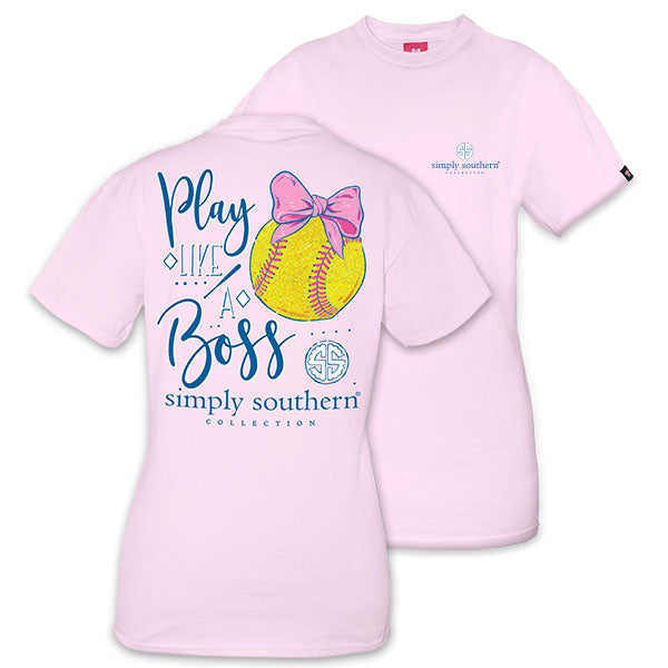 Simply Southern Preppy Softball Youth T-Shirt