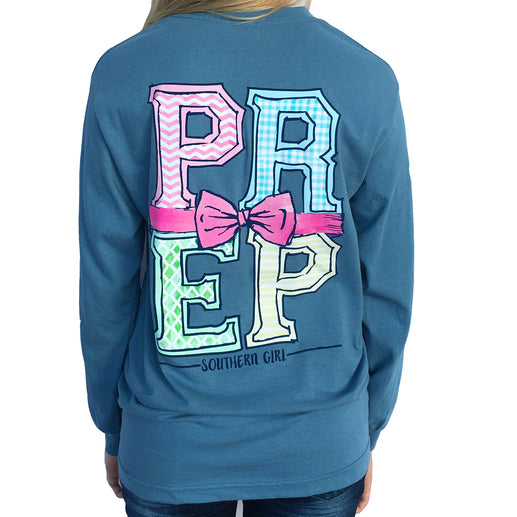 "*Closeout* Southern Girl Prep  ""Prep"" Long Sleeve T-shirt"