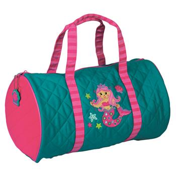 "Quilted ""Mermaid"" Duffle"