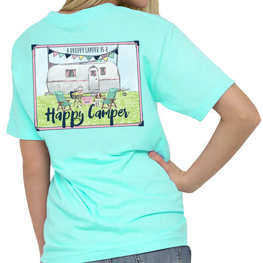 "Southern Girl Prep ""Preppy Camper"" Short Sleeve T-shirt"