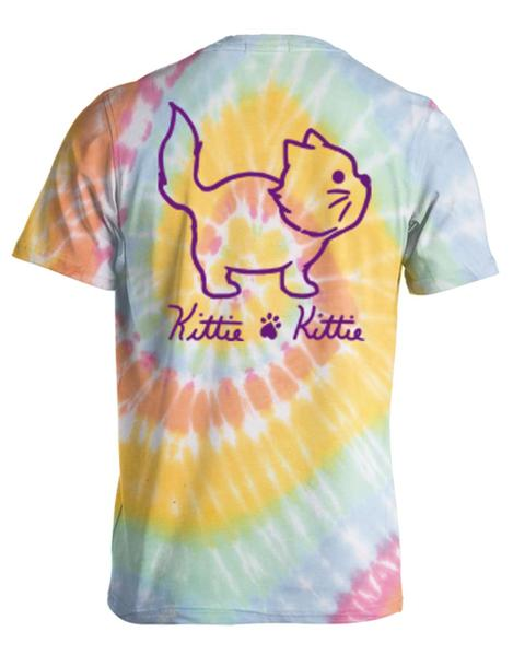 Kittie Kittie Love Tye Dye