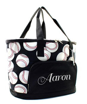 Insulated Cooler Baseball