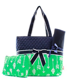 Arrow Diaper Bag - 3 Color Choices