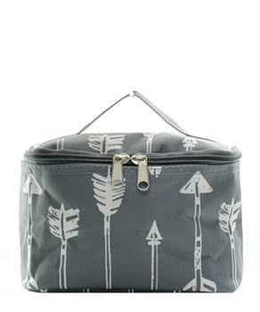 Arrow Small Cosmetic Bag - 2 Color Choices