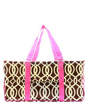Utility Tote Large - Vine Print - 4 Colors