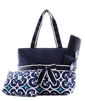 Anchor Geometric Diaper Bag