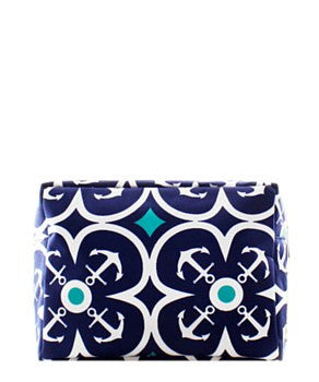 Anchor Geometric Cosmetic Bag