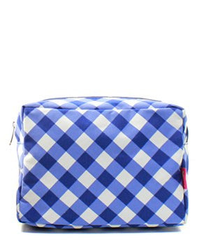 Plaid Cosmetic Bag - 3 Color Choices