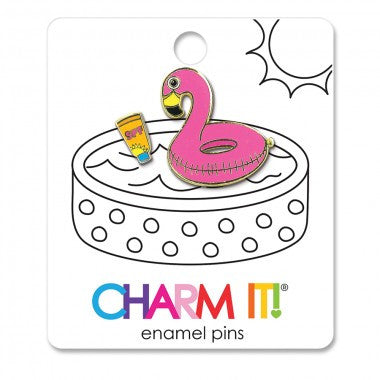 Charm It! - Enamel Pins - 3 Designs