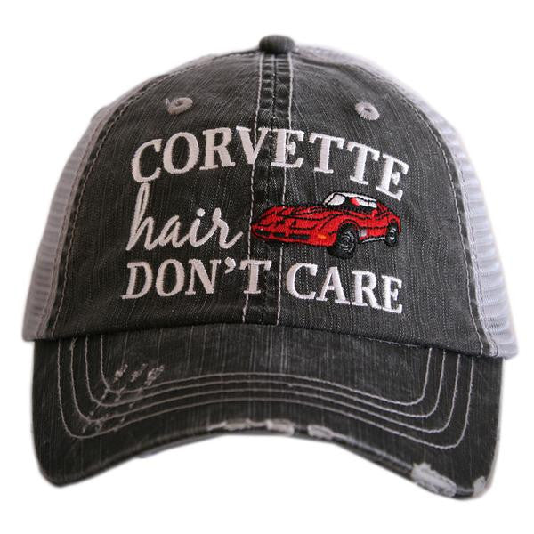 Katydid Corvette Hair Don't Care Trucker Hat - 2 Color Choices
