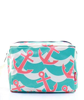 Anchor Splash Cosmetic Bag