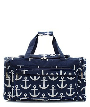 "23"" Anchor Print Duffel BY NGIL"