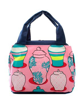 Lunch Tote Ginger Jar