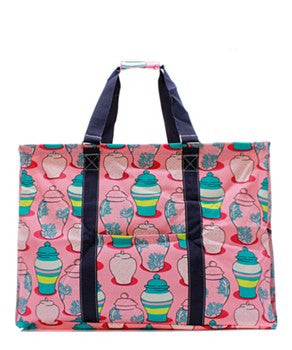 Utility Tote Extra Large - Ginger Jar Print